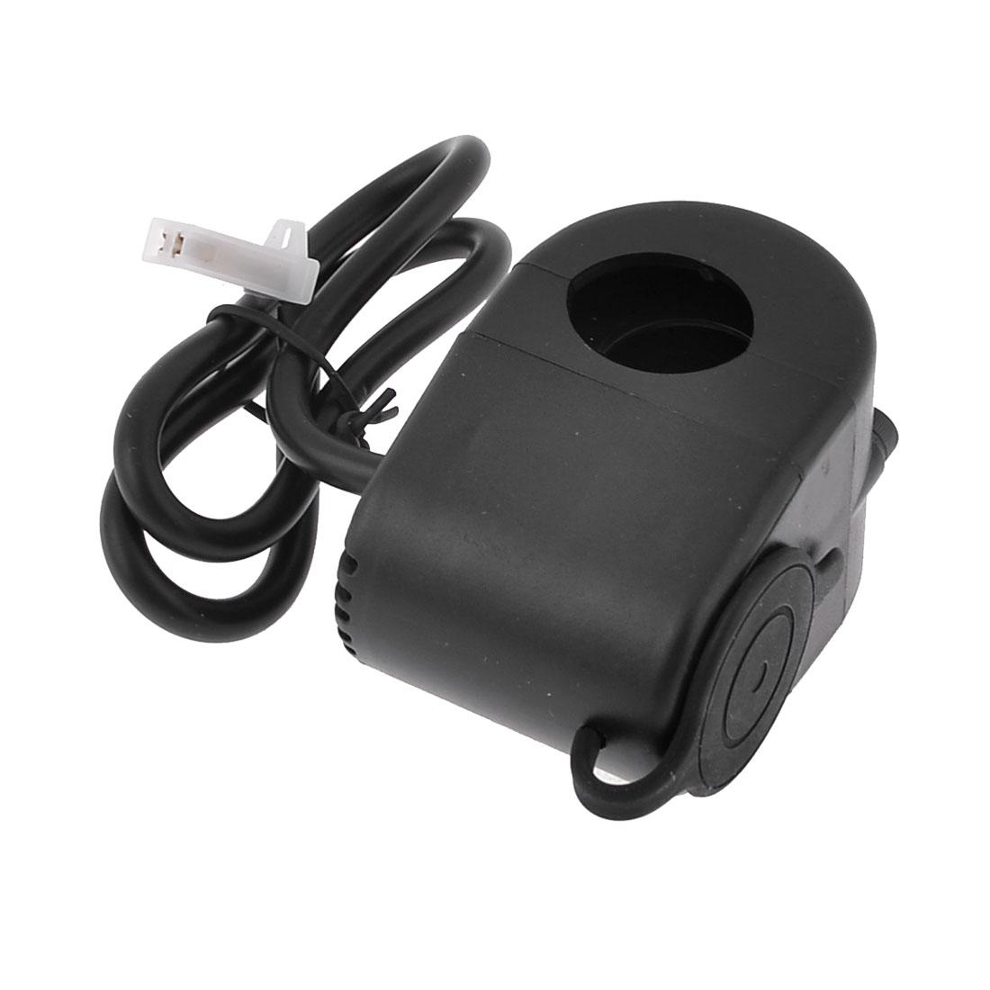DC 12V Car Motorcycle Wired Cigarette Lighter Holder Power Socket Outlet