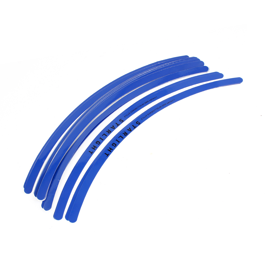 28pcs Rim Stripe Wheel Vinyl Decal Tape Sticker Blue for Car Truck Motorcycle