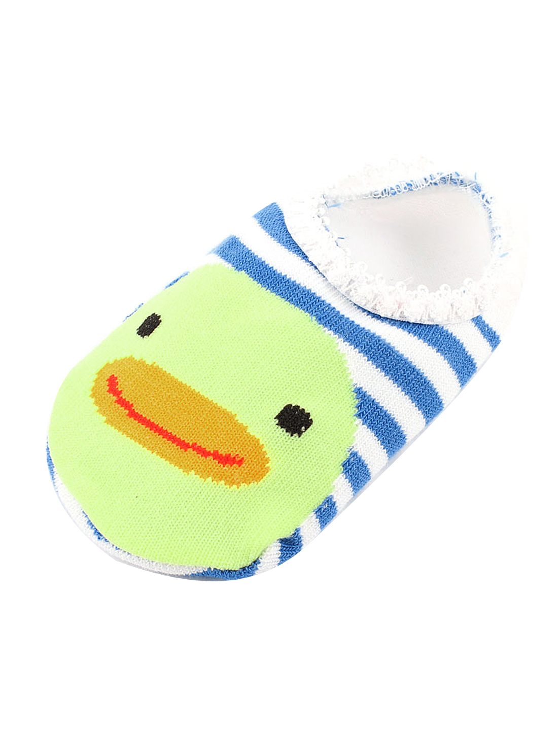 Blue White Stripes Printed Anti Slip Baby Infant Toddler Floor Socks