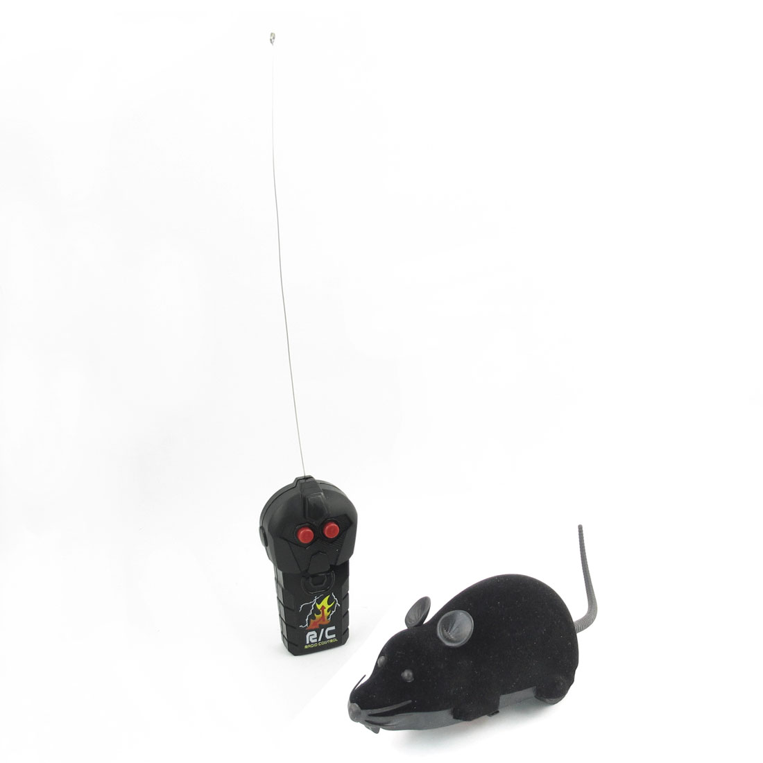 Black Emulational Remote Control Moving Mouse Toy for Child