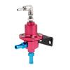 Car Manual Boost Controller Petrol Fuel Pressure Regulating Turbo Valve Burgundy