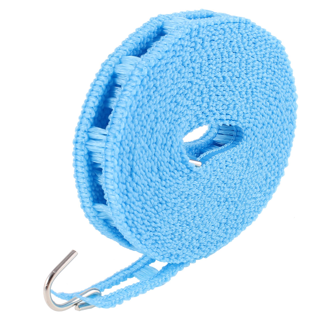 Outdoor 5 Meters Nonslip Flexible Windproof Clothesline Hanging Rope Blue