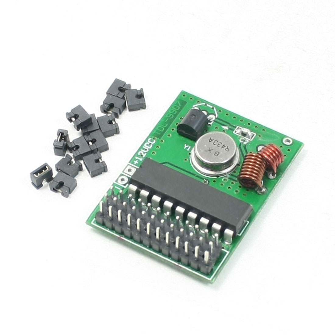 DC 12V ASK/OOK Modulation Mode 433MHz PCB Panel TDL-9907 Transmitter Module