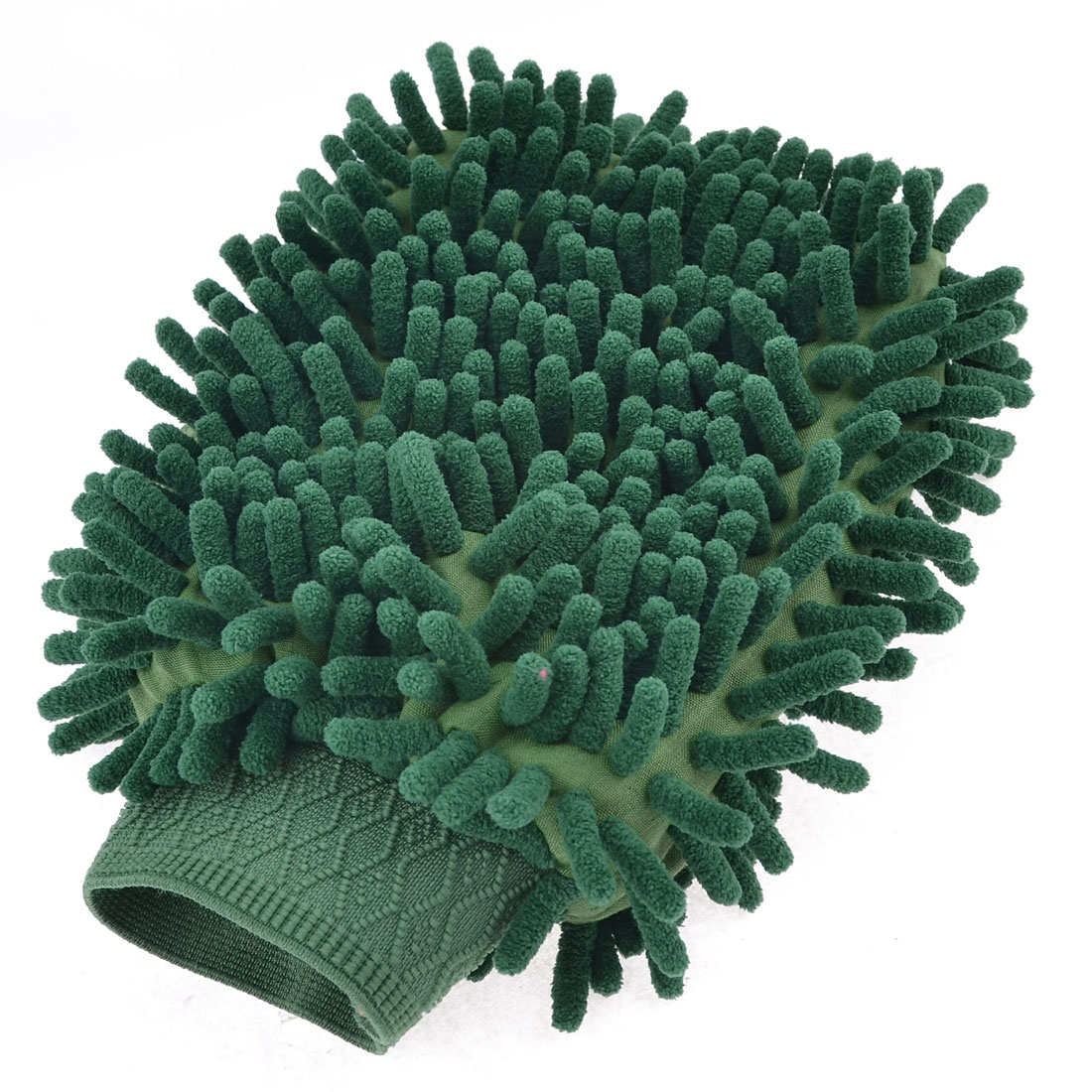 Vehicle Auto Sanitary Green Microfibre Cleaning Mitten Gloves