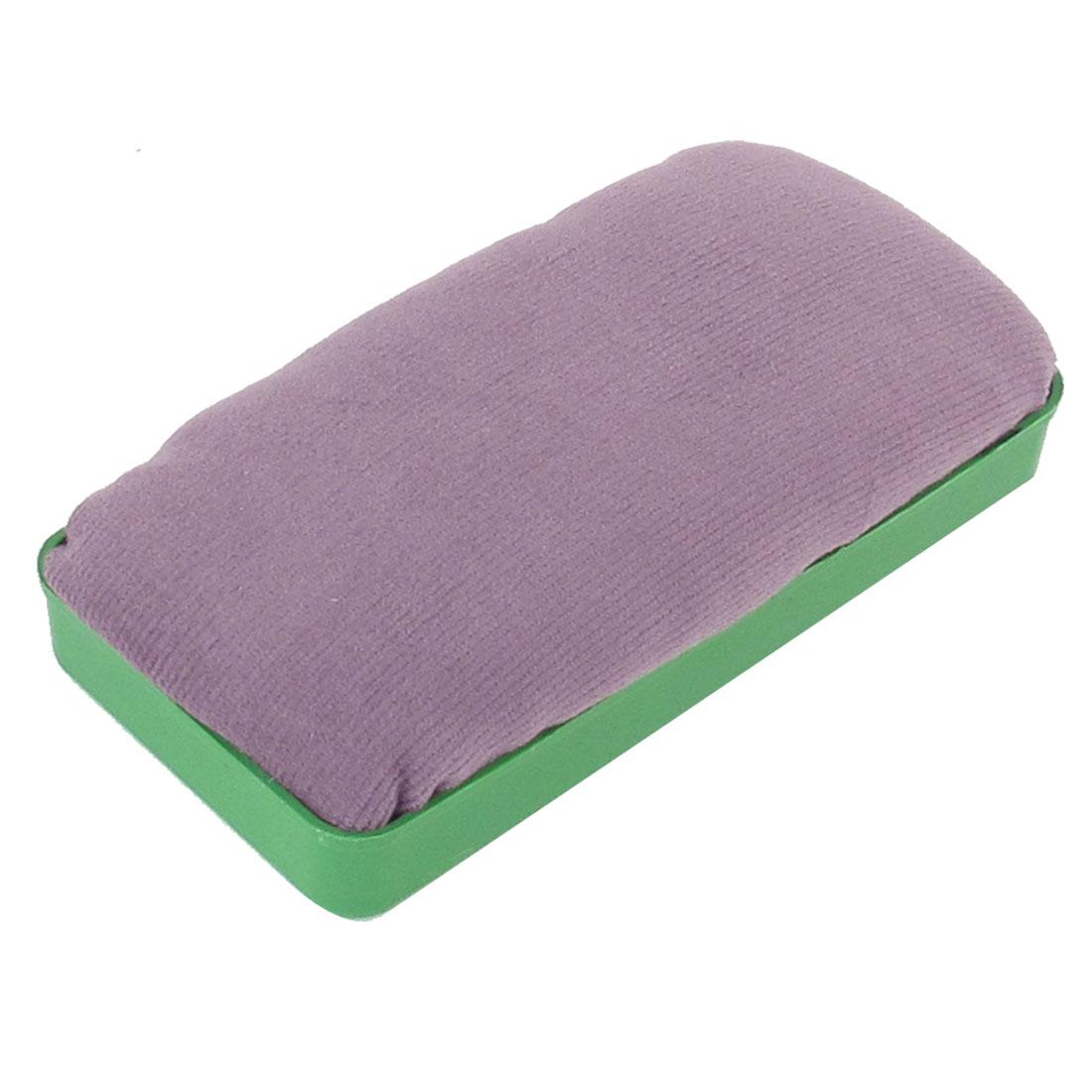 Stationery Foam Felt Dry Magnetic Eraser Green Lavender Color for Whiteboard
