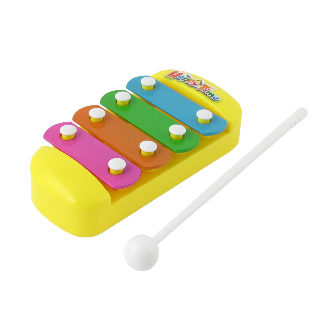Baby Plastic Sticks 4 Tone Music Hand Beat Percussion Toy Multicolor Xylophone