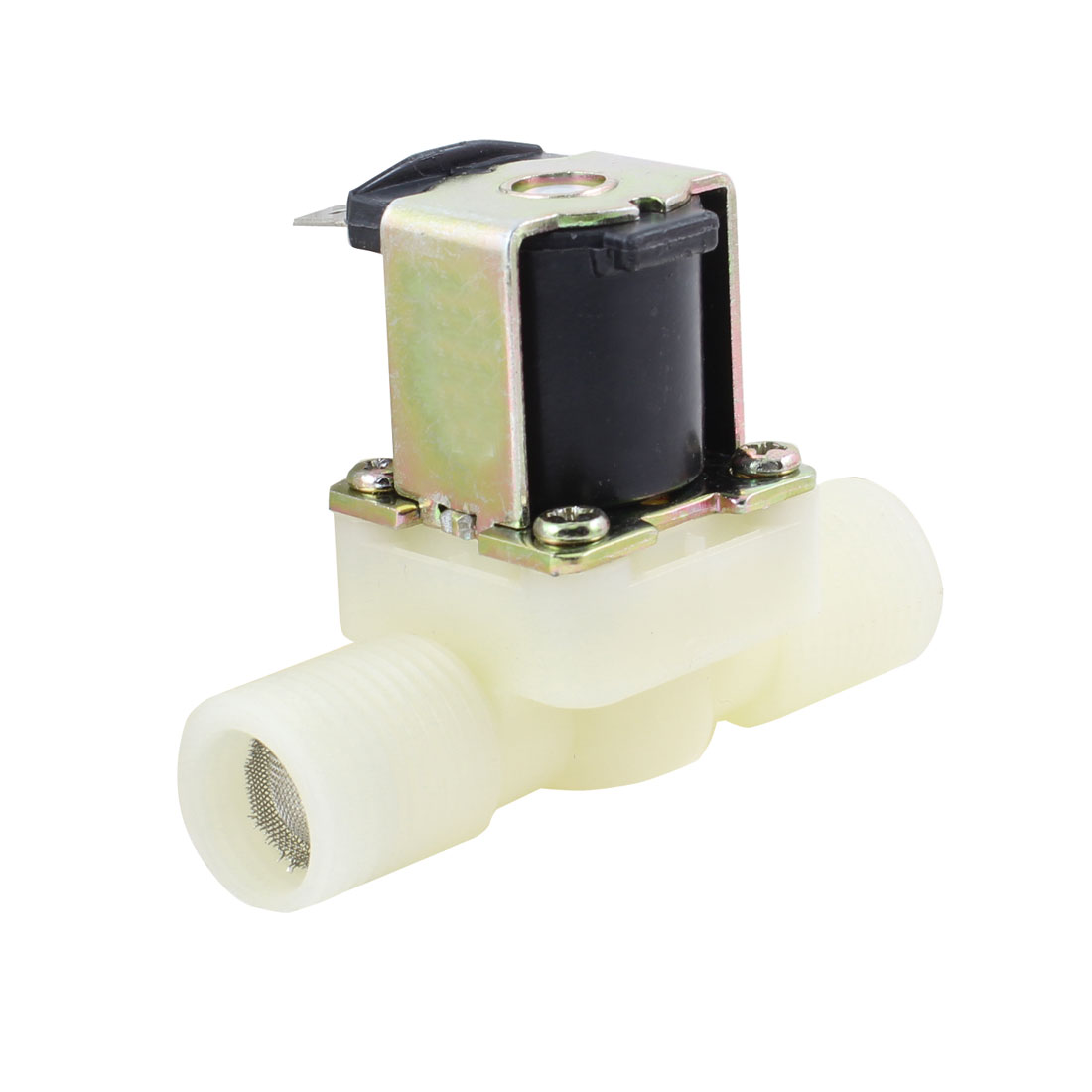1/2PT Male Thread Washing Machine Solenoid Water Valve AC 220V 50Hz FCD-90A