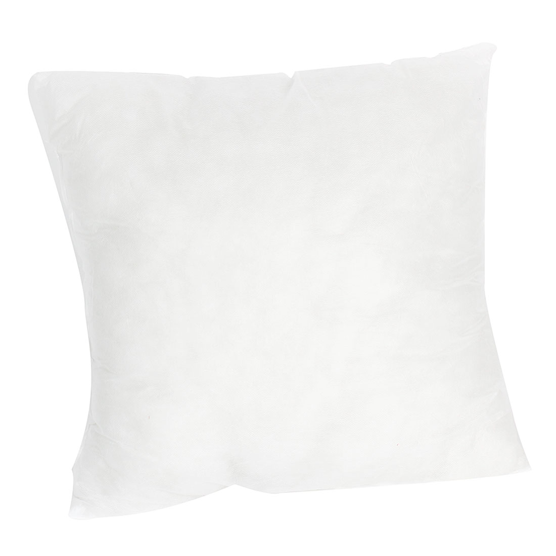 Household White Square Shaped Soft Cotton Blends Back Cushion Throw Pillow Inner