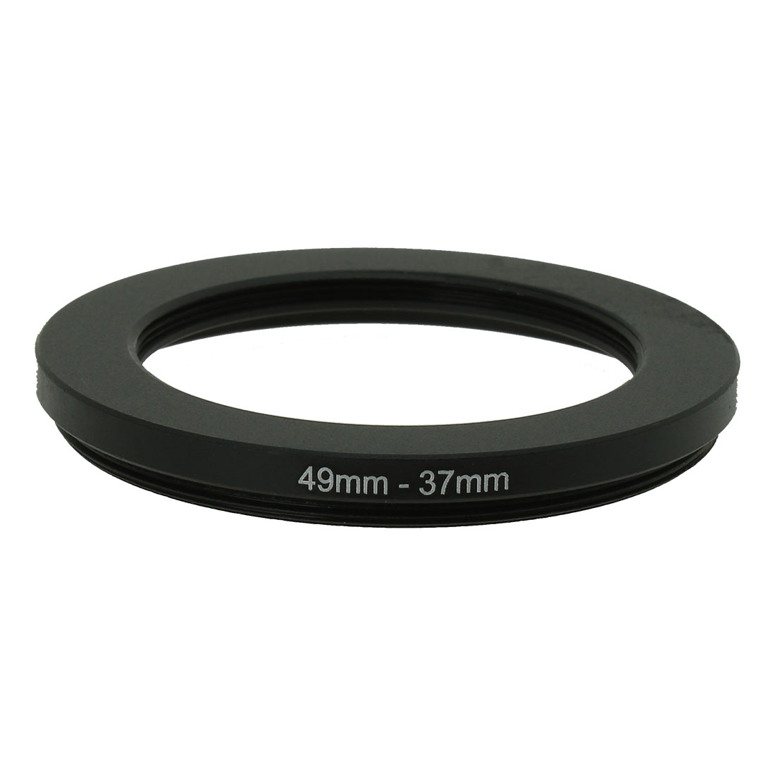 49mm-37mm 49mm to 37mm Black Step Down Ring Adapter for DSLR Camera