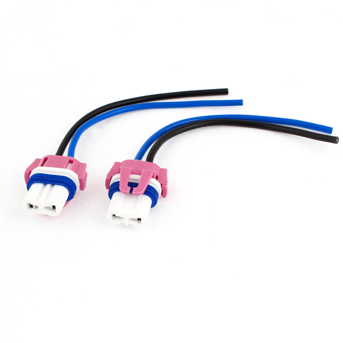 Automotive 9005 Ceramic Wiring Harness Adapter Fog Light Socket x 2