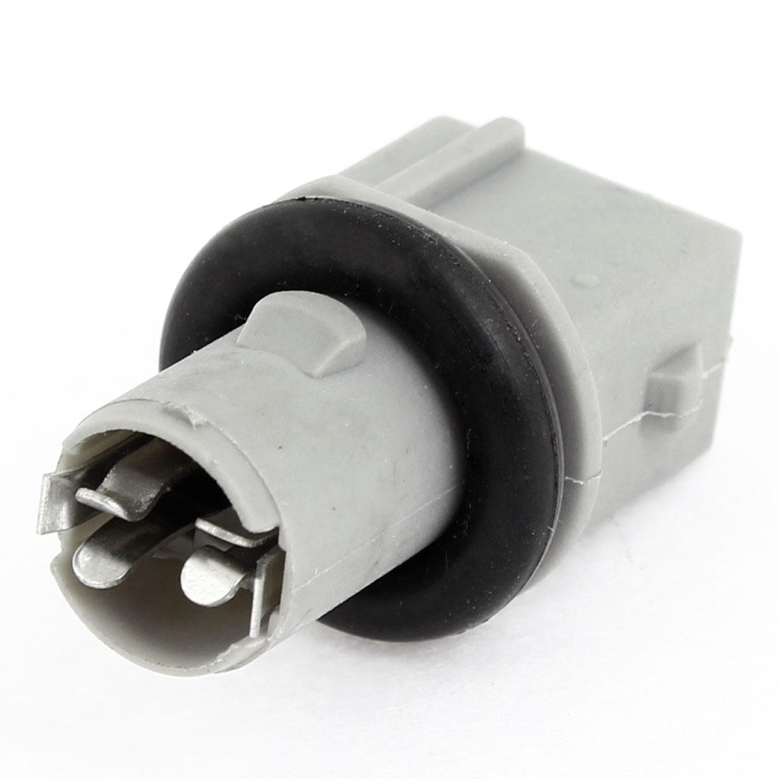 T15 Black Gray Plastic Brake Stop Back up Light Socket for Car
