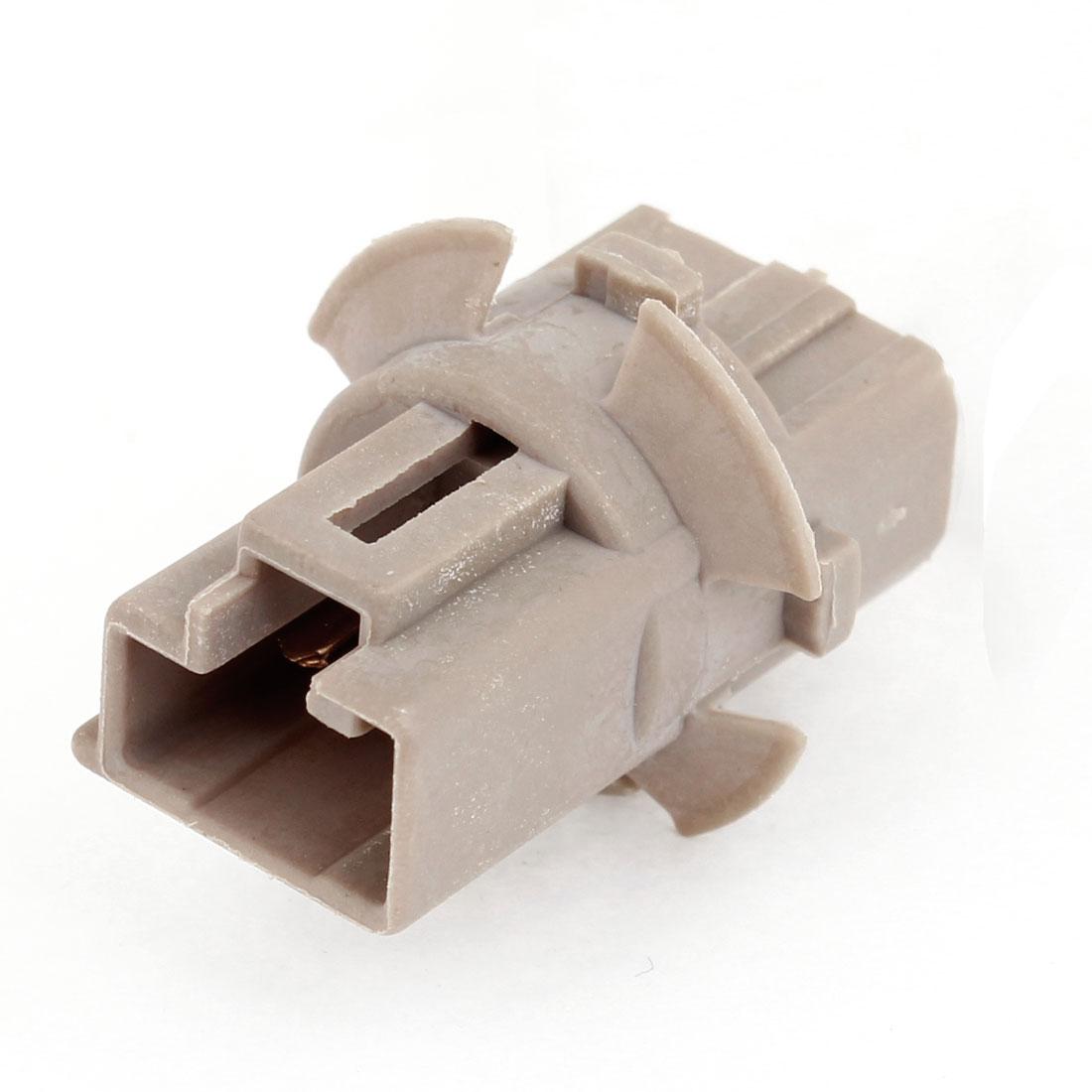 T20 Brown Plastic Braking Reverse Light Socket for Car