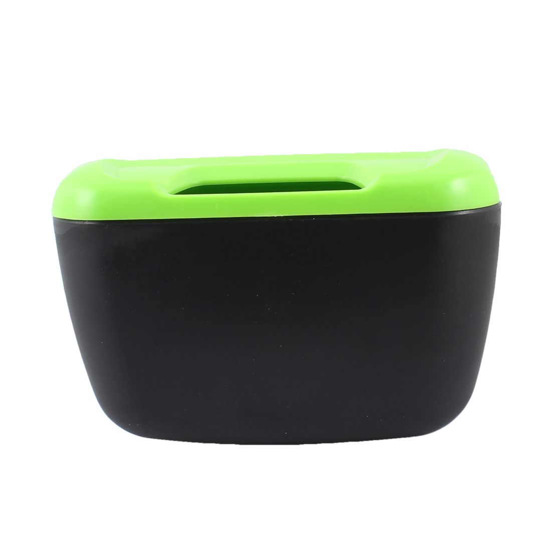 Black Green Plastic Trash Bin Garbage Box Storage for Cars Auto