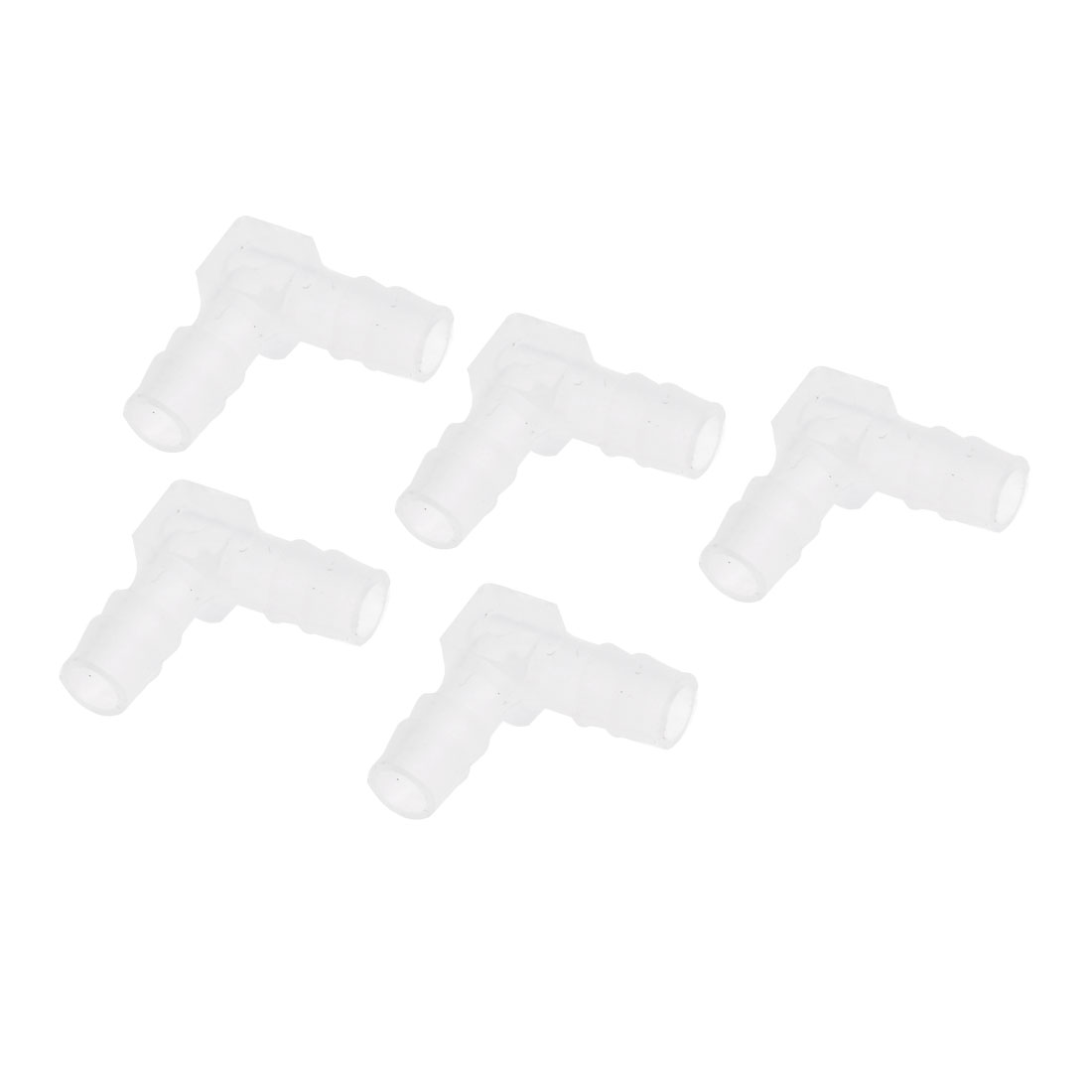 5 Pcs L Shaped Air Hose Tubet Filers Connectors Adapter for Aquarium