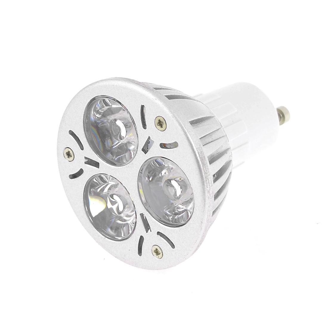 AC 12V 1W Warm White Lamp 3 LEDs Energy Saving GU10 Light Bulb