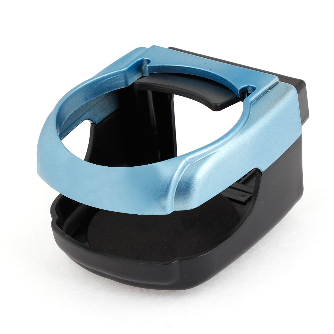Blue Black Plastic Drink Can Bottle Cup Stand Holder for Car Auto