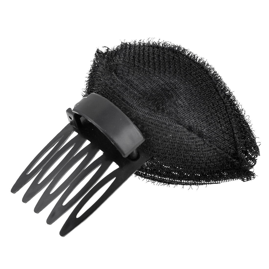 Unisex Plastic Pompadour Fringe Up Do Insert Tool Elegant Magic Hair Base Black