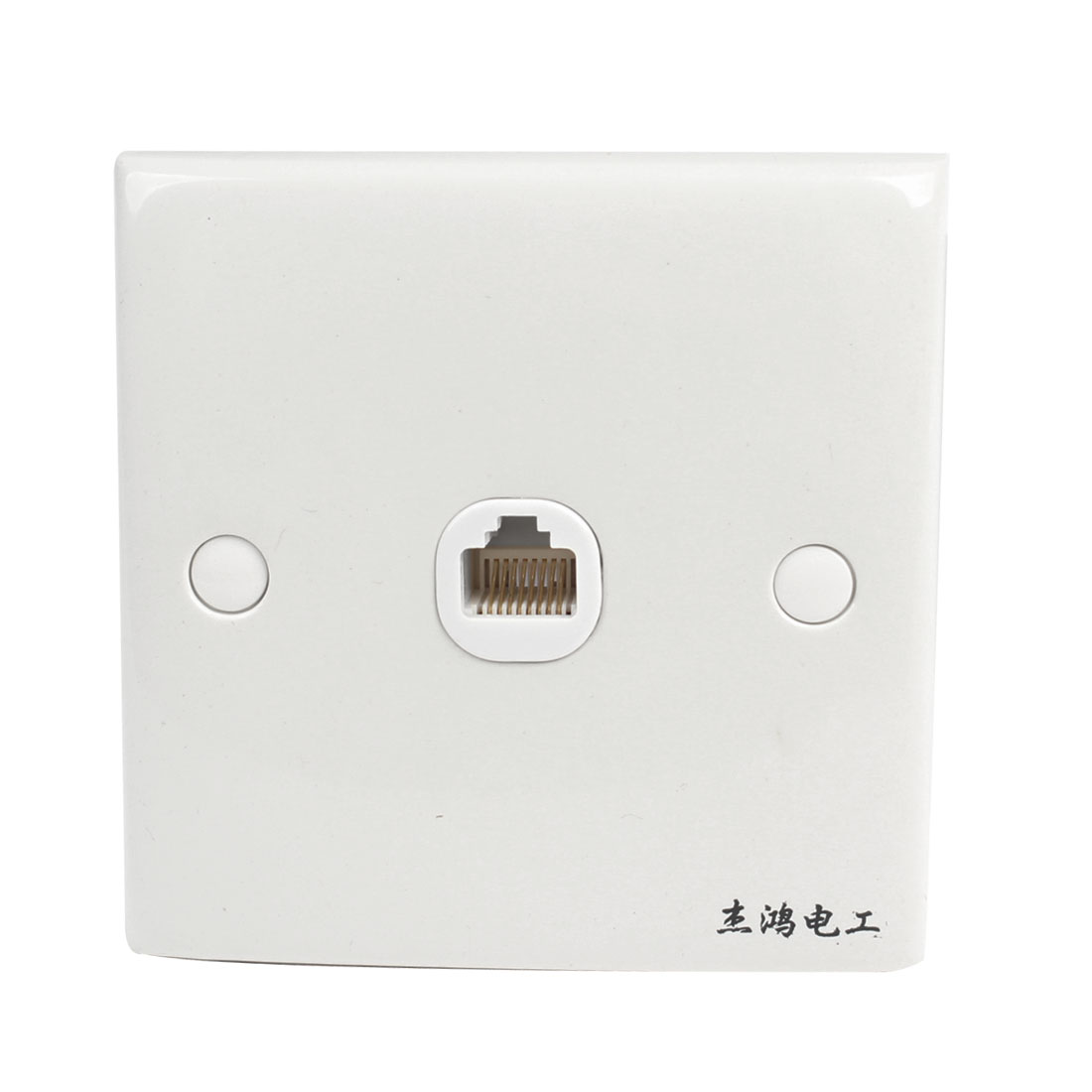 RJ45 8 Position 8 Pins PC Computer Wall Mount Plate Outlet Socket