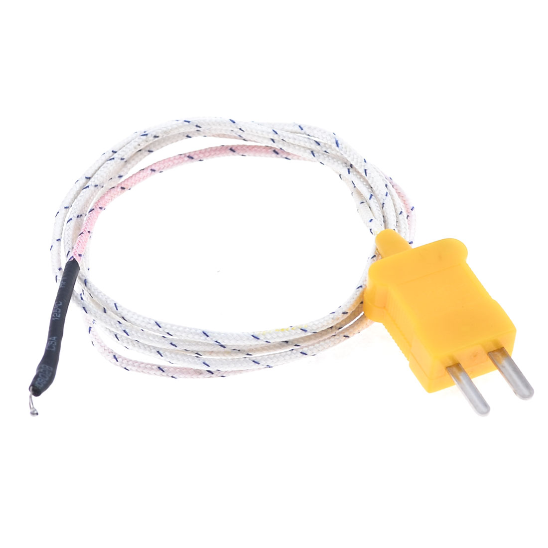 "Insustrial TP01K Thermocouple Temperature Sensor Wire 38.4"" Length"