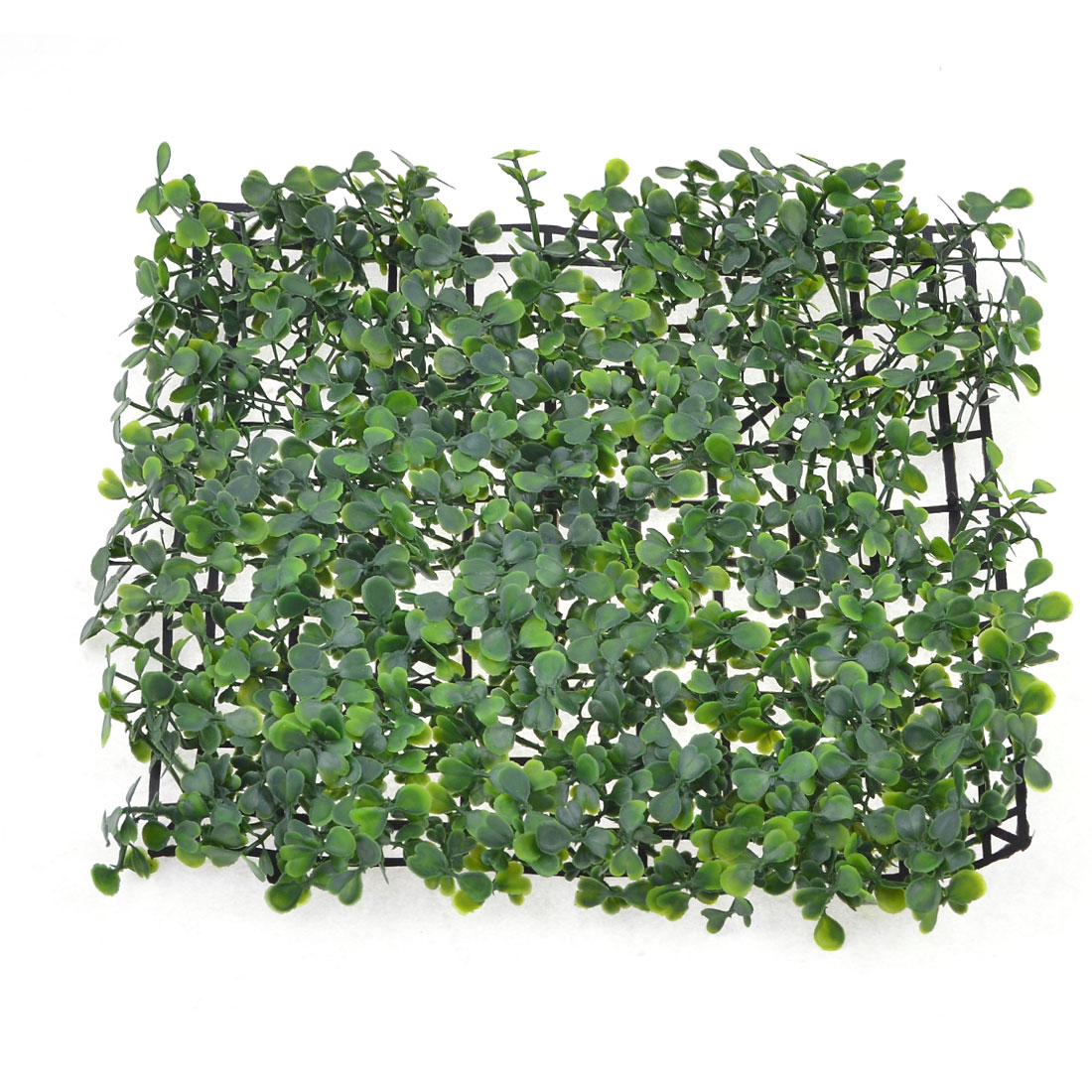 """10.6"""" x 10.6"""" Green Sqaure Shape Plastic Lawn Grass for Aquarium Fish Tank"""