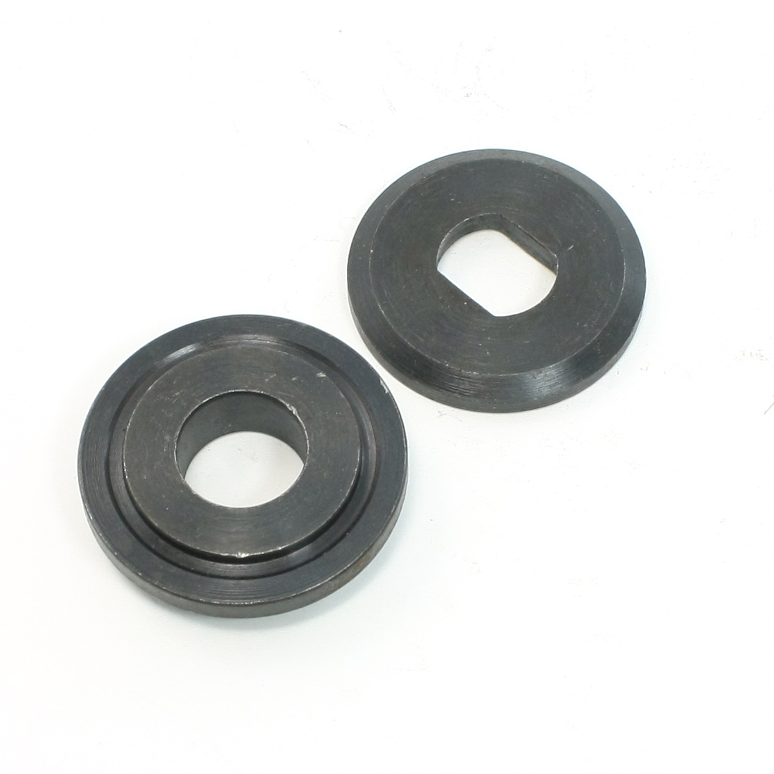 2 Pcs Replacement 40mm Dia Inner Outer Flange for Cut Off Machine