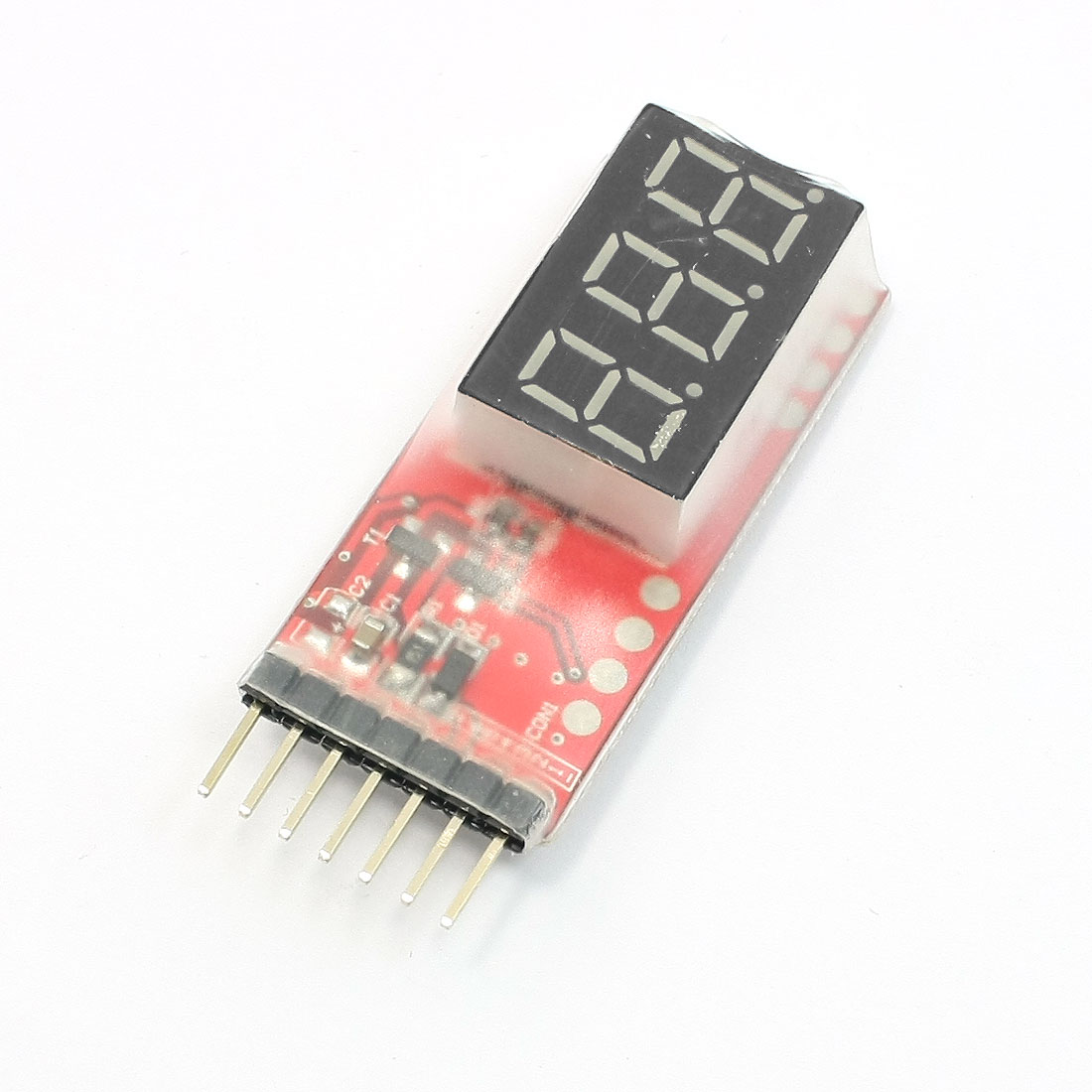 LCD Display Lipo Battery Voltage Tester for RC Toy Airplane Model