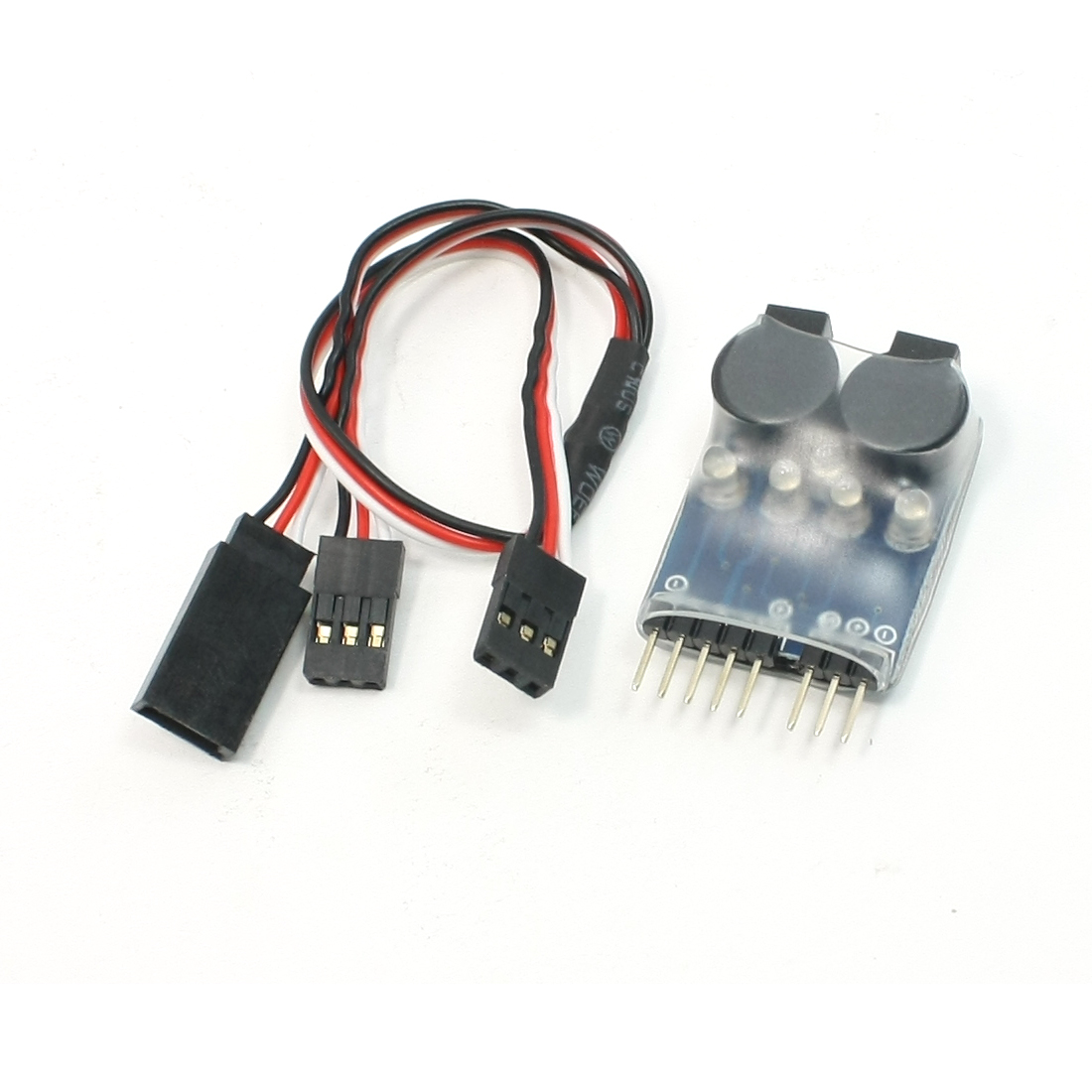 Low Voltage 2s-4s Lipo Battery Buzzer Alarm Indicator for Models