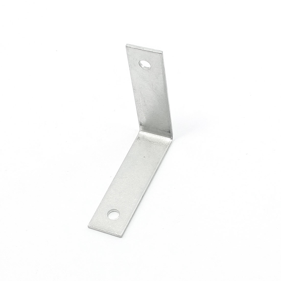 Silver Tone Aluminum Alloy L Shaped Angle Bracket for Tables Models