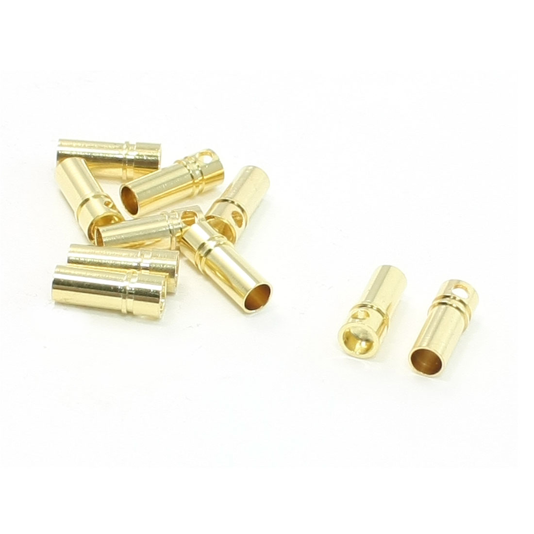10 Pcs Female Cone Connector Replacement 3.5mm for RC DIY