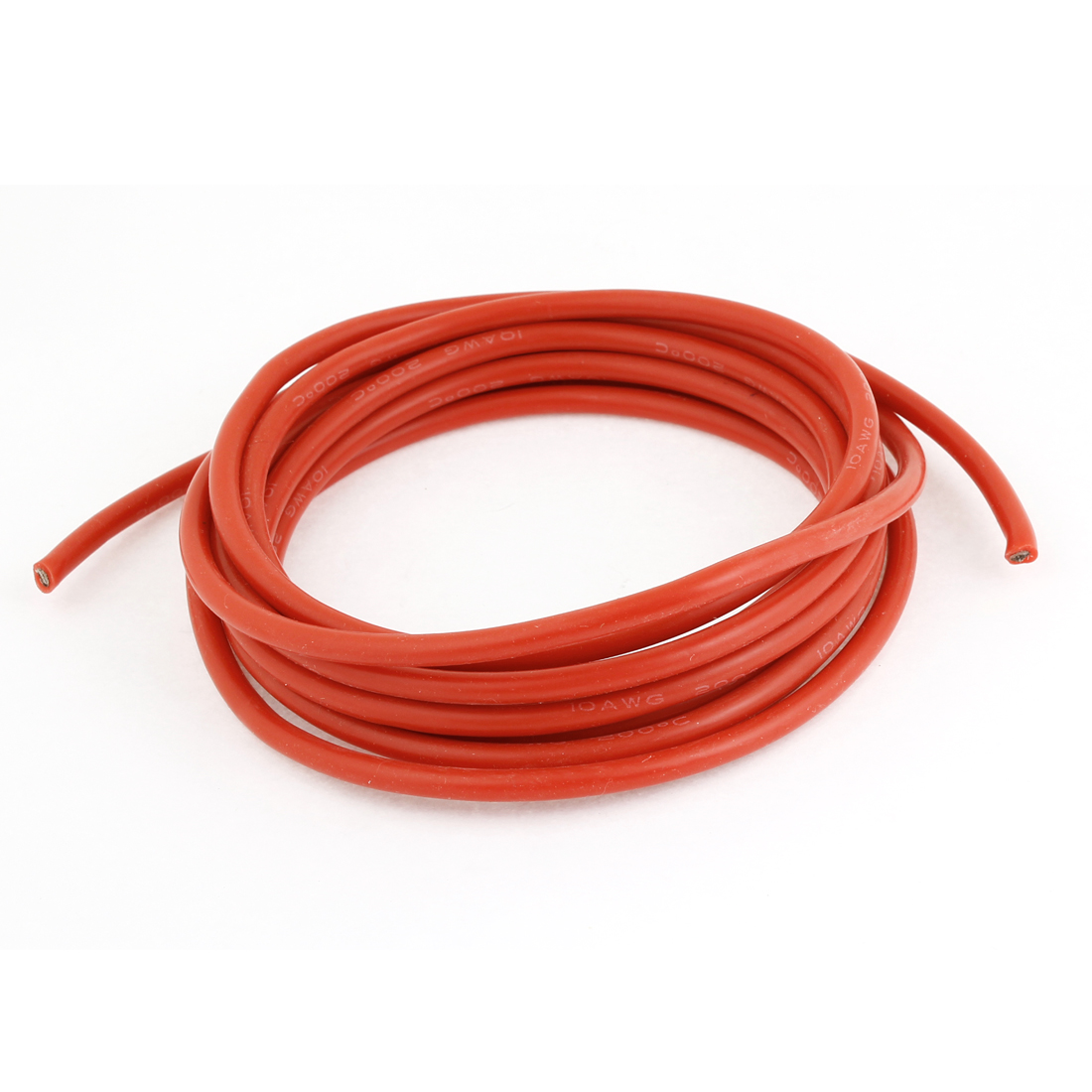 Spare Part 3 Meter 10AWG High Temperature Resistant Red Silicone Wires