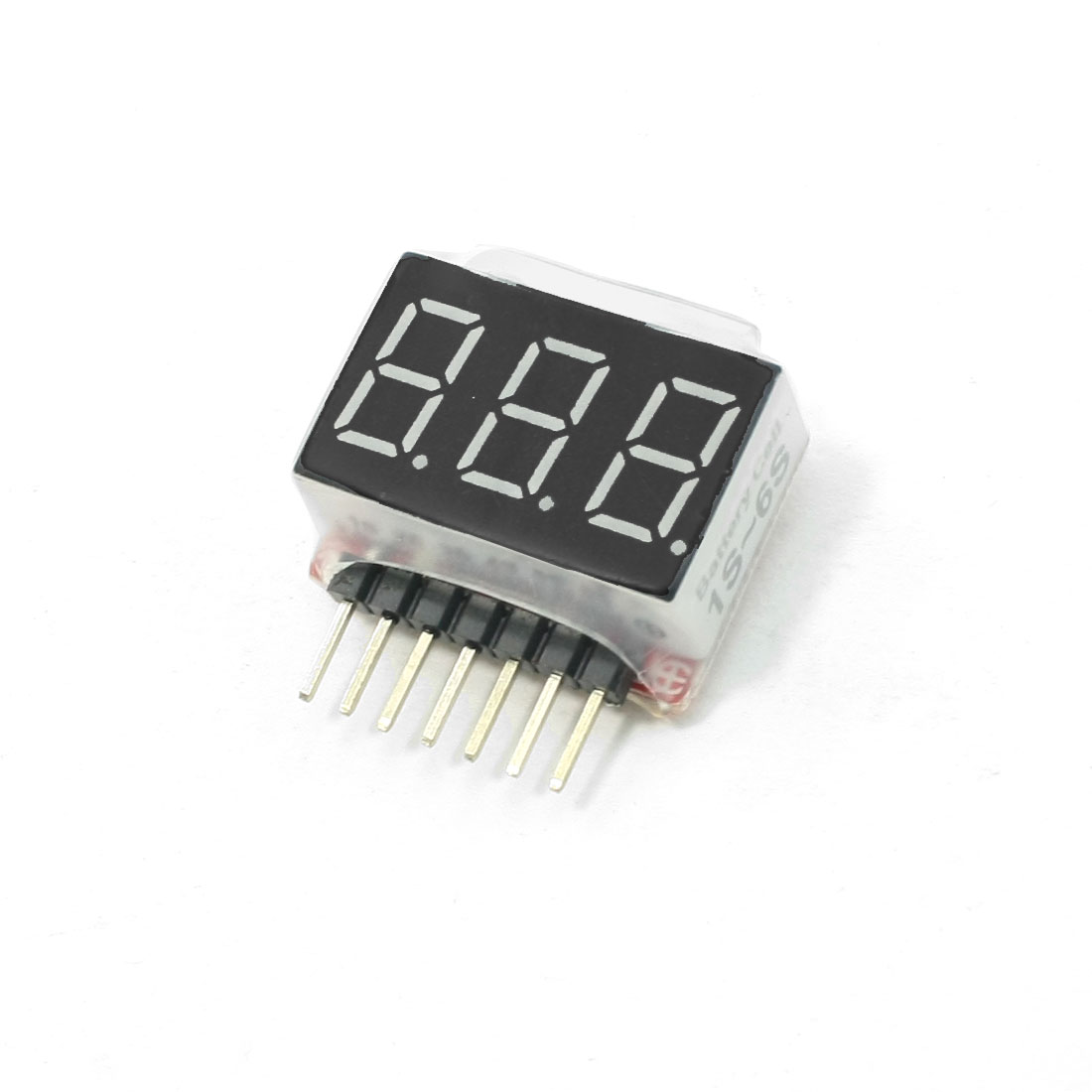BVM-6S LCD Display 7 Pin Battery Voltage Meter for RC Control Model