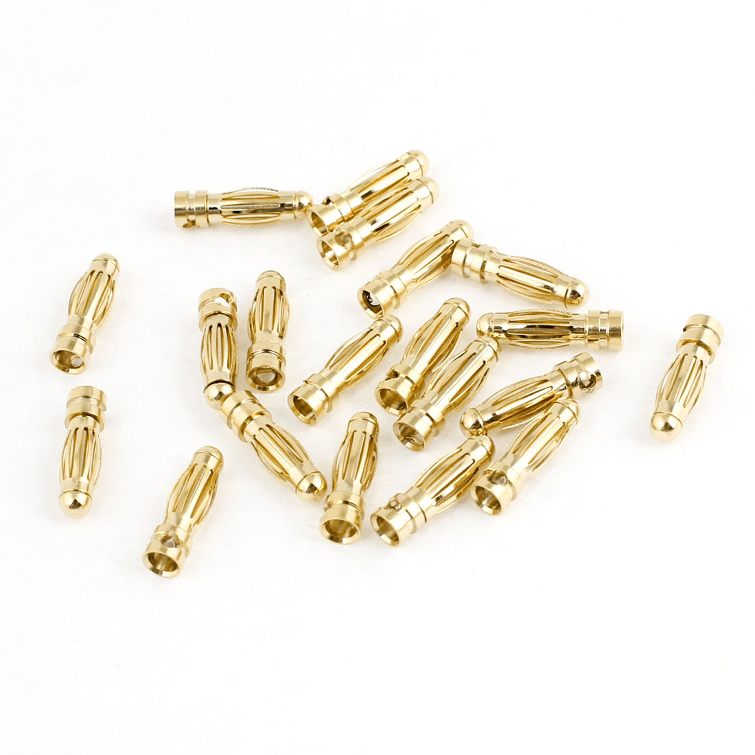 3mm Inside Dia Male Banana Connectors Replacement 20 Pcs