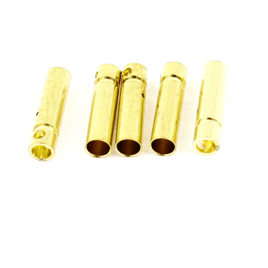 5 Pcs 3mm Inside Dia Female Banana Connector Replacement