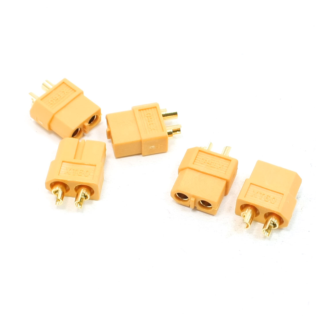 Replacing RC Battery S713 Model XT60 Plug Male Connector 5 Pcs