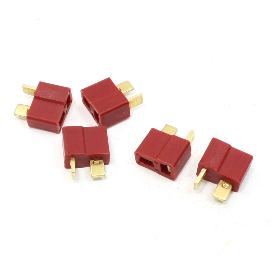 5 Pcs Replacing Y307 T Female Connector for RC Battery Vehicle