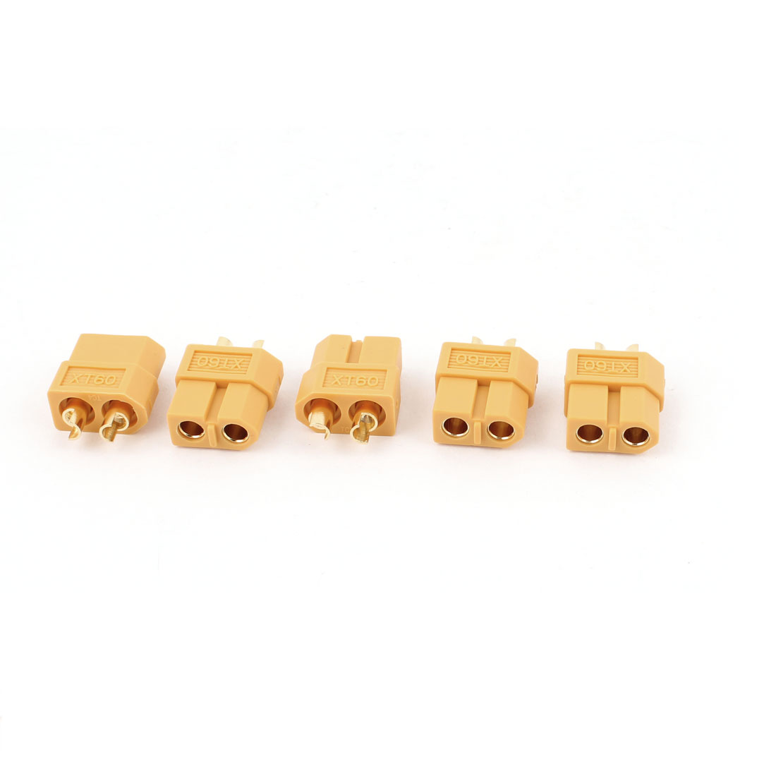 Electrical Equip S714 Type XT60 Connector Female 5 Pcs for RC Airplane