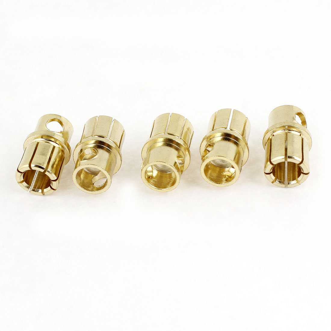 RC Model Toys 5mm Inside Dia Banana Plug Bullet Male Connector 5 Pieces