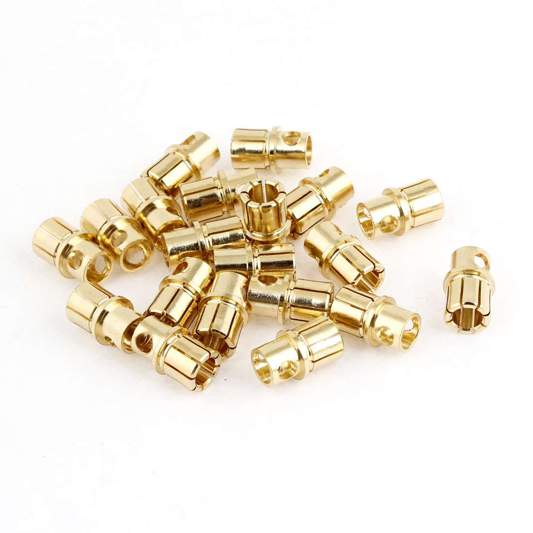20 Pcs BY502 8mm Outer Dia Male Banana Connector Replacement