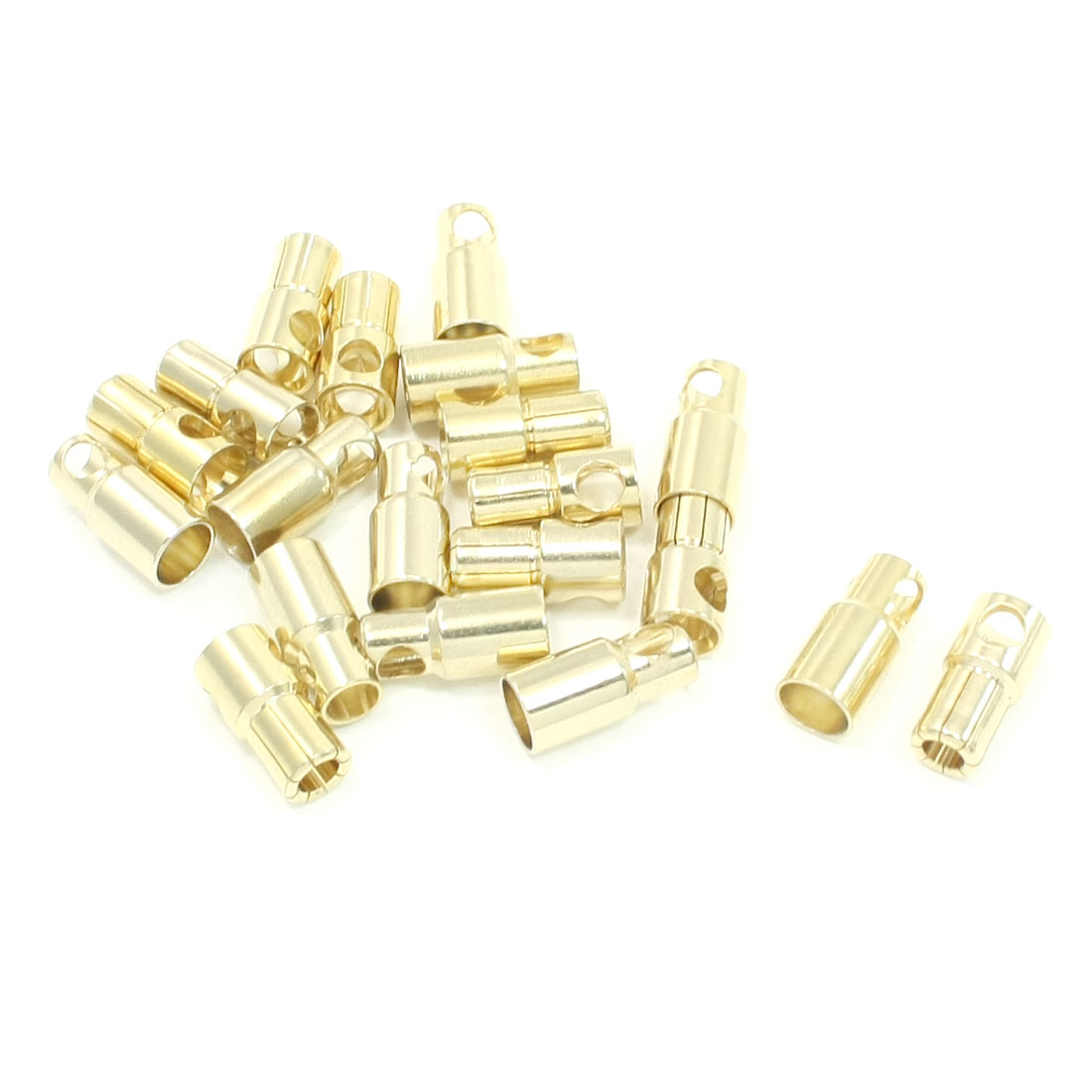 10 Pairs Motor Model Audio Video Female Male Banana Bullet Connectors