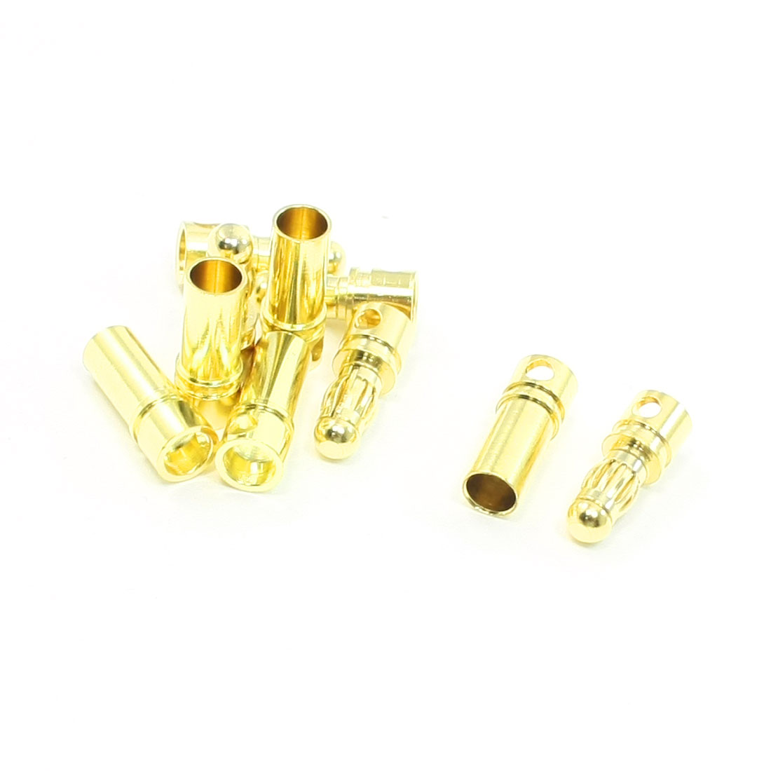 5 Pairs Female Male Connector Repair Part 3.5mm for RC DIY