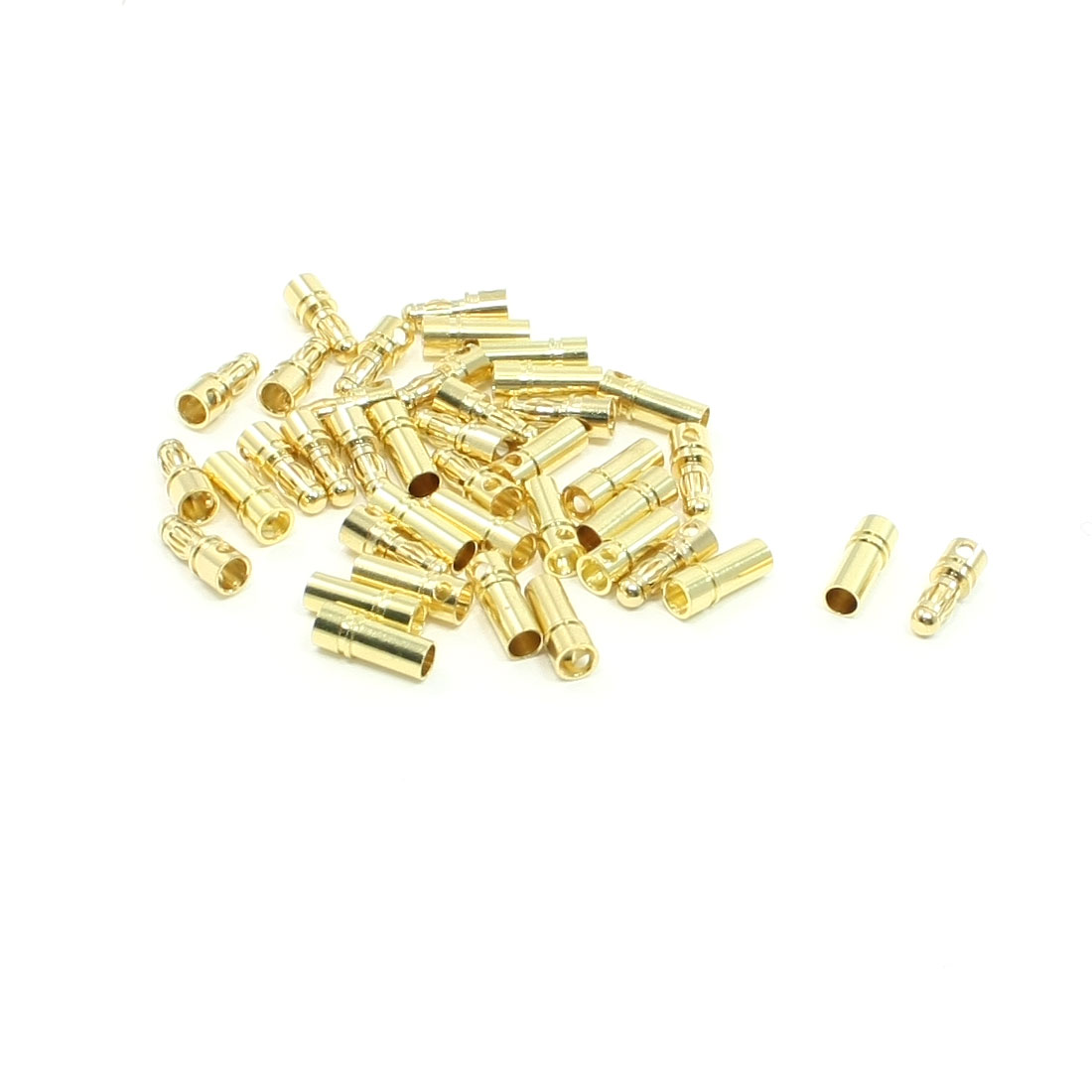 3.5mm Male Female Banana Plug Connector Replacements 20 Pairs