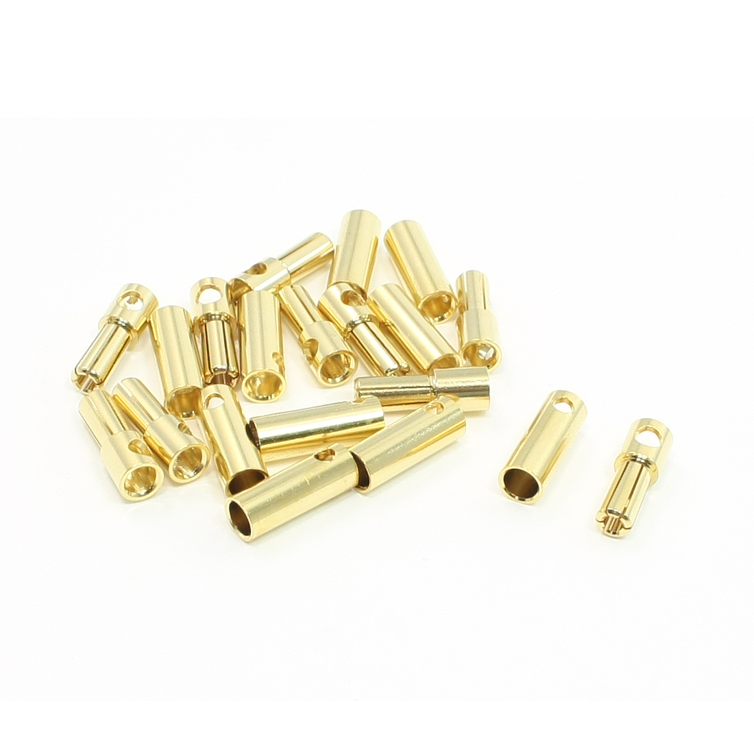 MH11589 RC PLugs 5mm Inner Dia Female Male Plug Connector 10 Pairs
