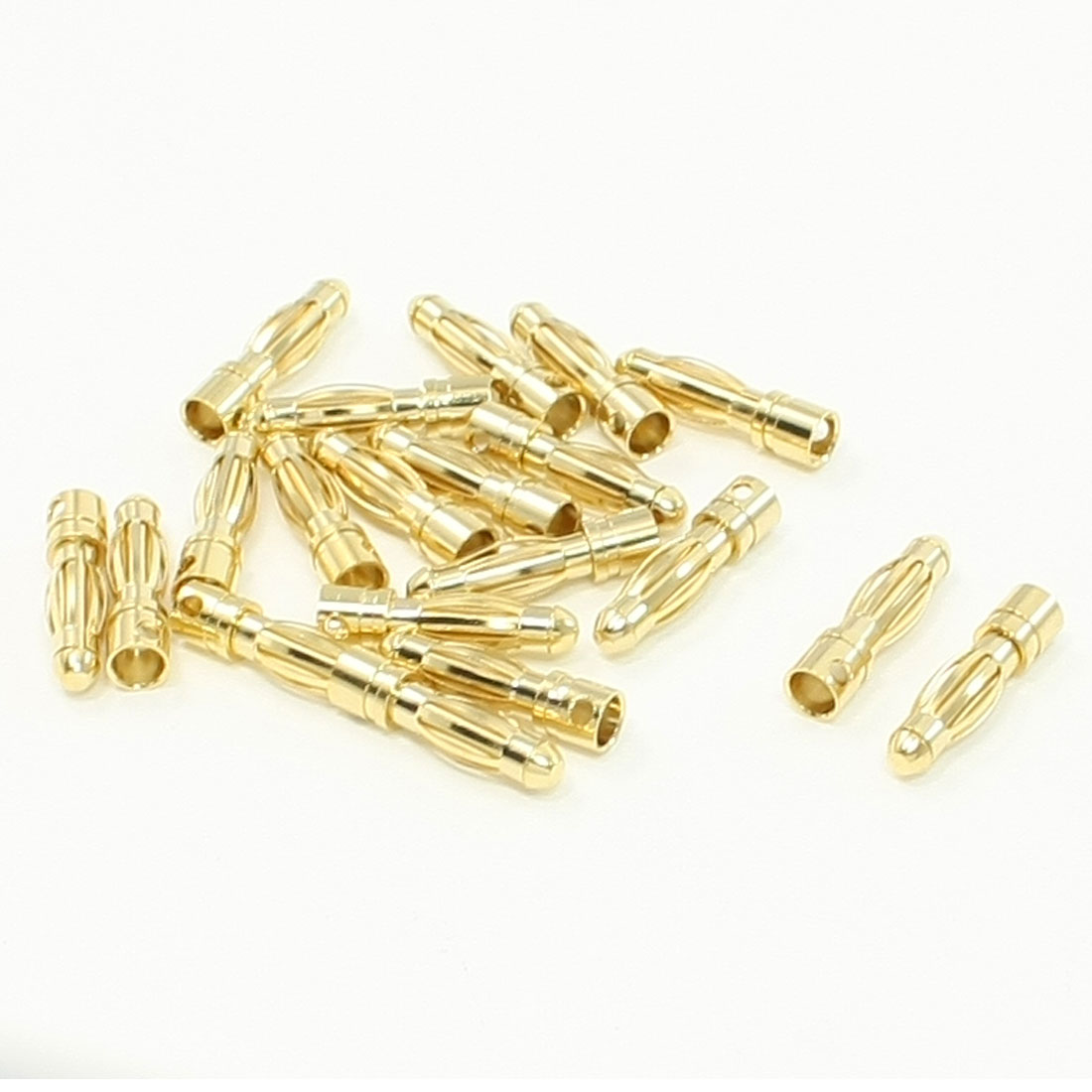20pcs Y303 RC Model Battery Male Banana Connector 4mm Diameter