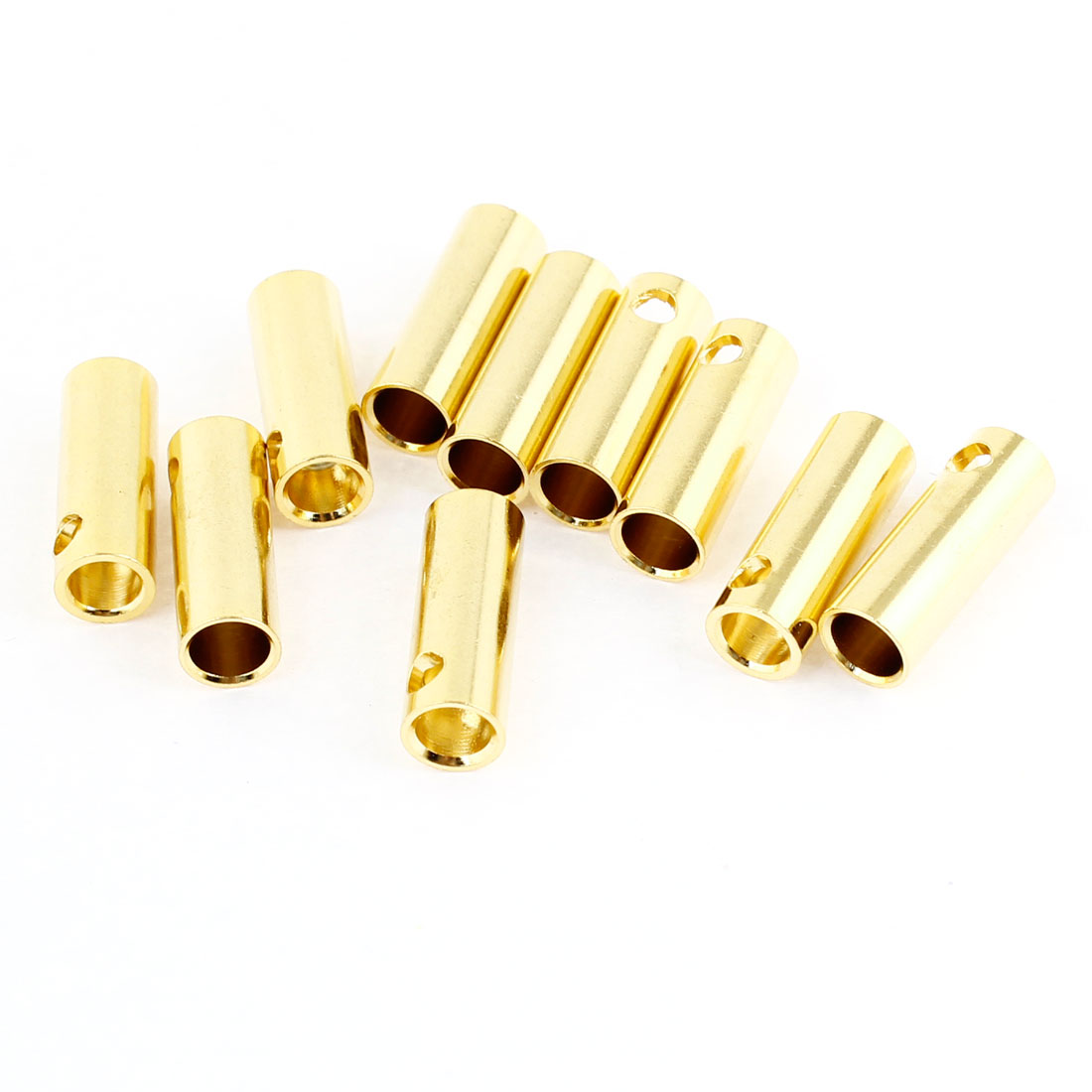 5mm Inside Dia Female Banana Connector Replacement 10 Pcs