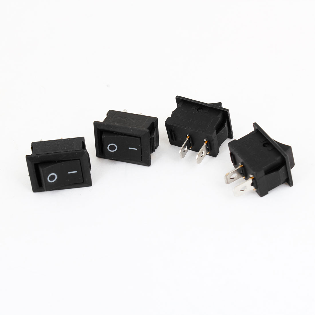 4 pcs 2 Position AC 6A/250V 10A/125V Boat Rocker Switch for Car