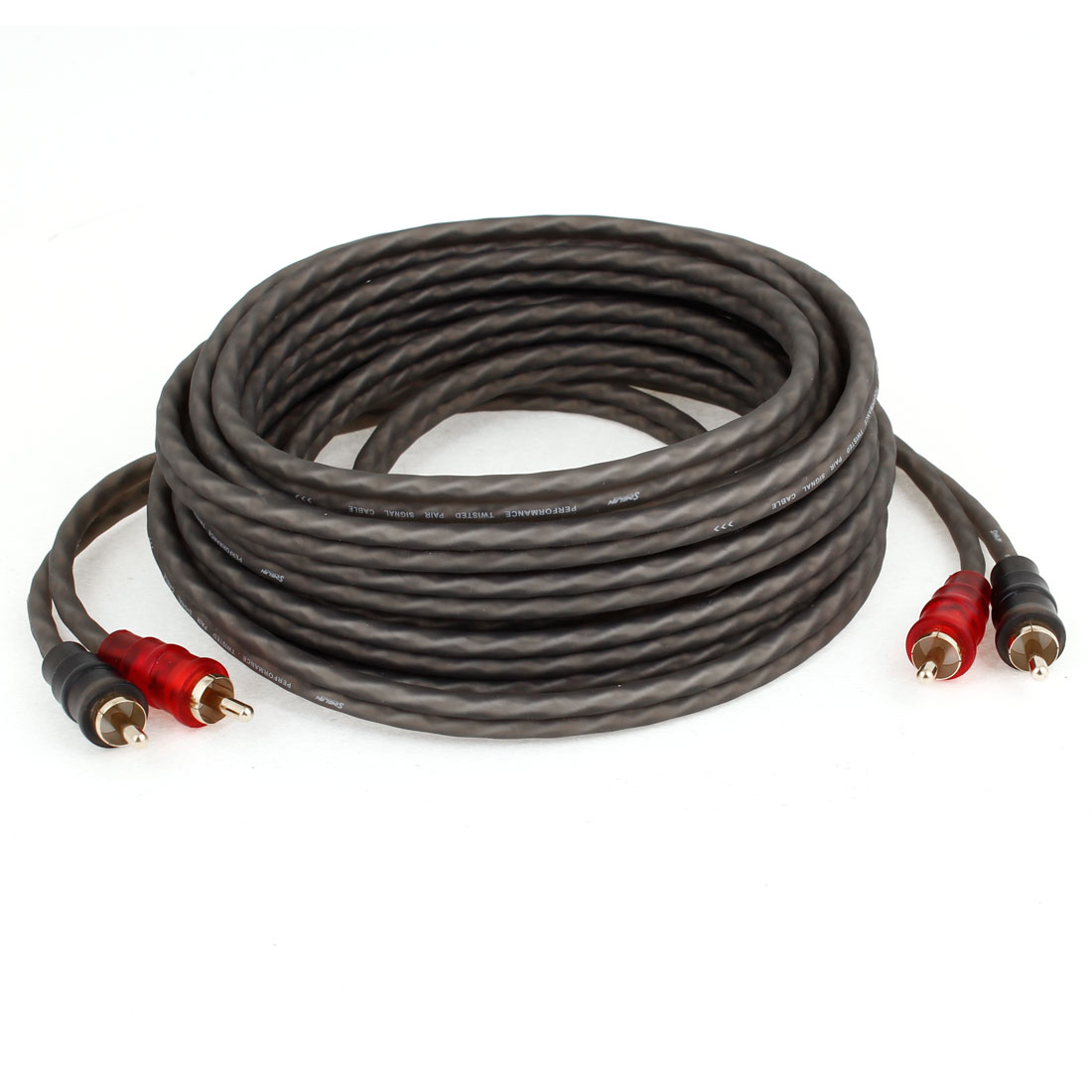 5 Meters Long Audio System 2 RCA to RCA Type Audio Cable for Car