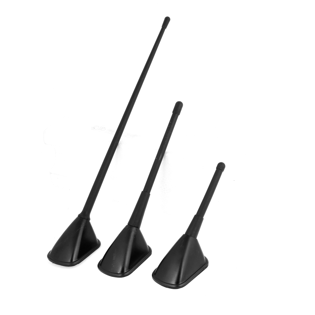 3 in 1 Black Plastic Exterior FM AM Dummy Antenna for Auto