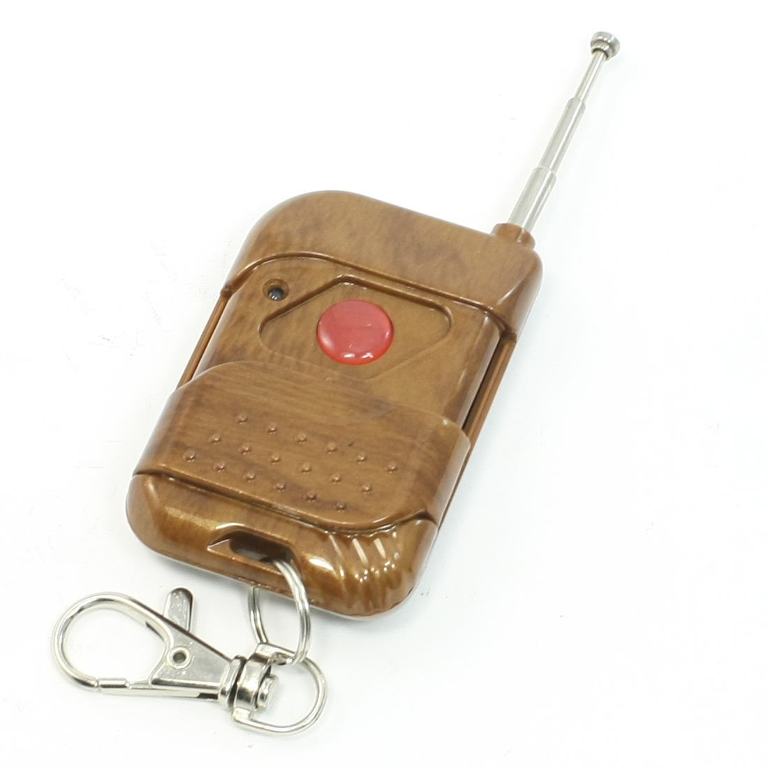 Slide Cover 1 Button 433MHz RF Wireless Remote Controller Transmitter Key Chain