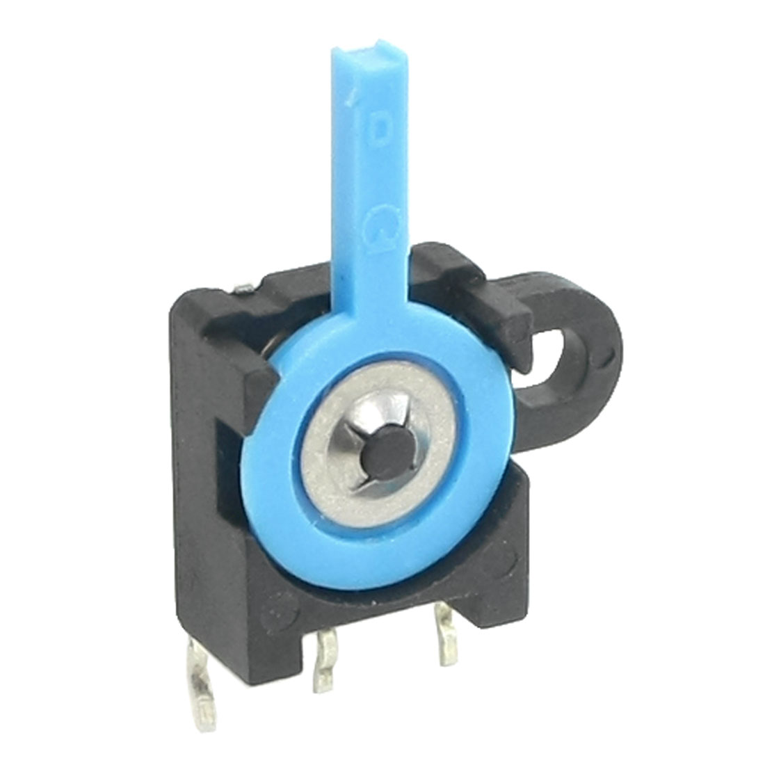 SPDT 3 Terminals 3 Position Miniature Reset Switch DC30V 0.5A