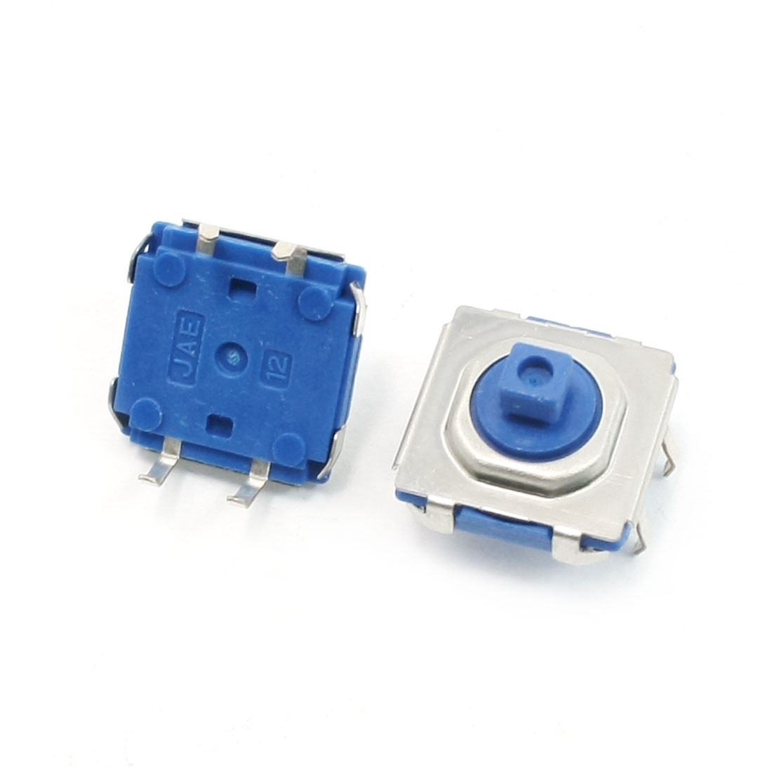 2PCS Water Resistance Momentary Motion Tact Switch 11mmx13mmx13mm DC12V 0.2A